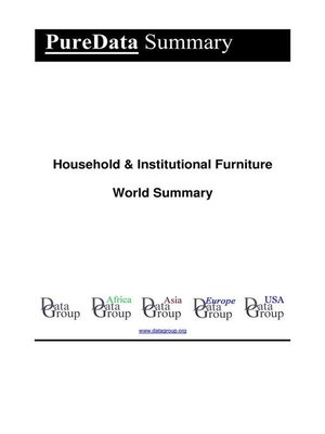 cover image of Household & Institutional Furniture World Summary