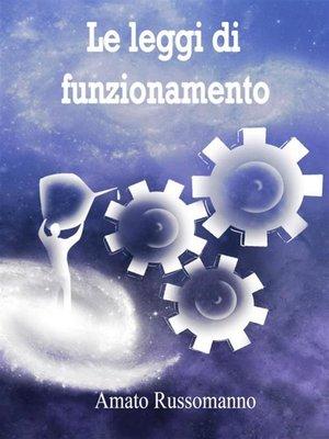 cover image of Le leggi di funzionamento