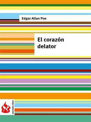 cover image of El corazón delator (low cost). Edición limitada