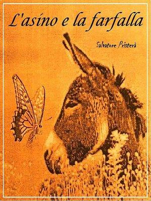 cover image of L'asino e la farfalla