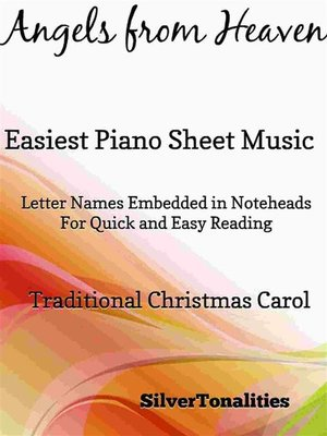 cover image of Angels from Heaven Easy Piano Sheet Music
