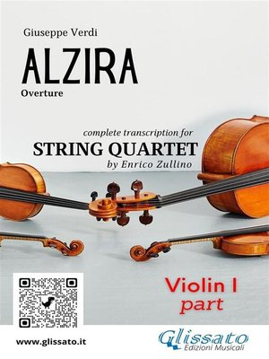 cover image of Alzira (overture) set of parts
