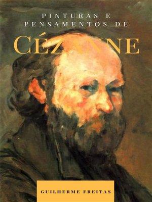 cover image of Pinturas e pensamentos de Cézanne