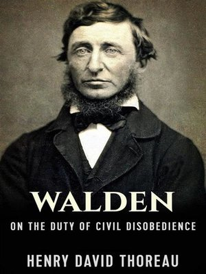 cover image of Walden, and On the Duty of Civil Disobedience