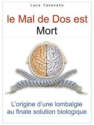 cover image of Le maux de dos est mort