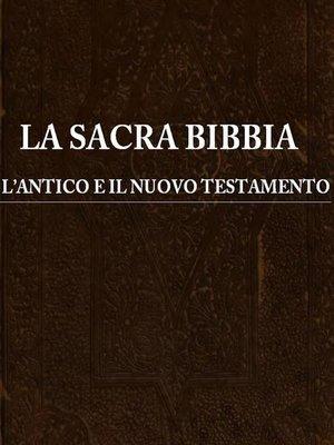 cover image of La Sacra Bibbia