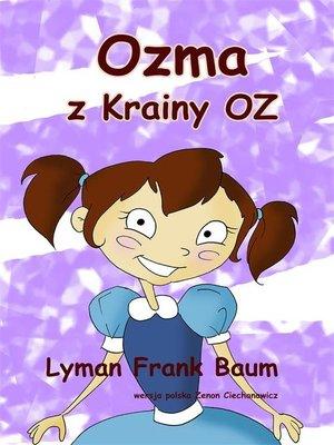 cover image of Ozma z Krainy Oz