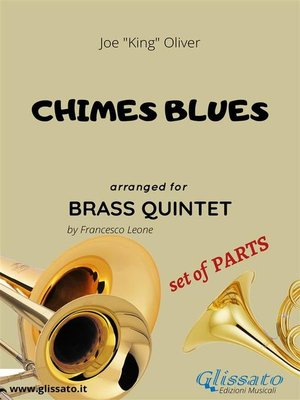 cover image of Chimes Blues--brass quintet set of PARTS