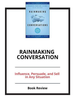 cover image of Rainmaking Conversation