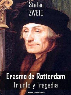 cover image of Erasmo de Rotterdam