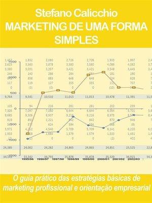 cover image of Marketing de uma forma simples