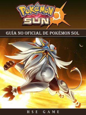 cover image of Guía No Oficial De Pokémon Sol