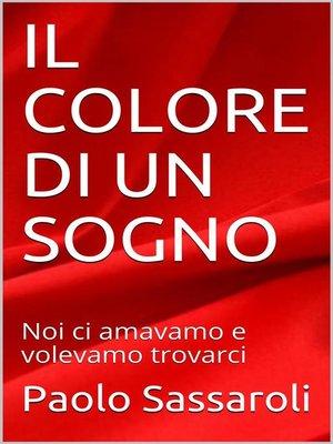cover image of Il sogno