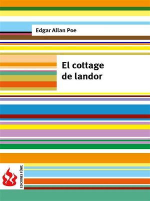cover image of El cottage de landor (low cost). Edición limitada