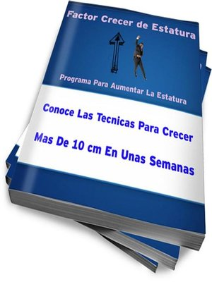 cover image of Como Crecer de Estatura