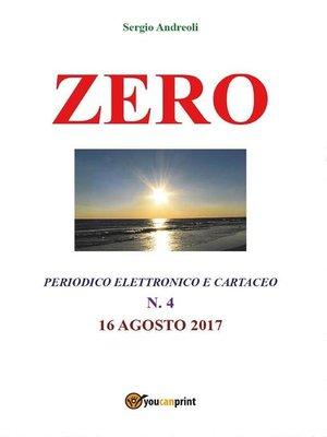 cover image of Zero 4