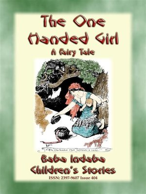 cover image of THE ONE-HANDED GIRL--A Swahili Children's Story