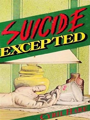 cover image of Suicide Excepted