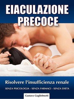 cover image of Eiaculazione Precoce