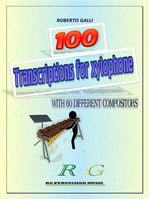 cover image of 100 Transcriptions for xylophone
