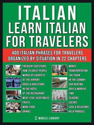 cover image of Italian--Learn Italian for Travelers