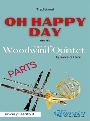 cover image of Oh Happy Day--Woodwind Quintet (parts)