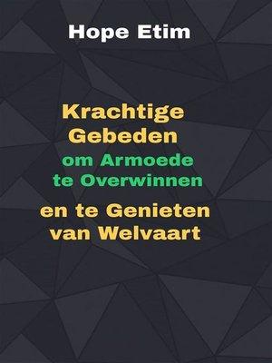 cover image of Gebeden om Armoede te Overwinnen en te Genieten van Welvaart