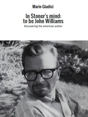 cover image of In Stoner's mind--to be John Williams
