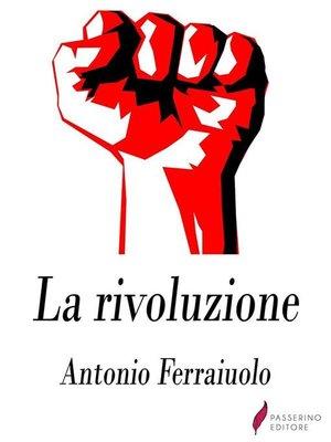 cover image of La rivoluzione