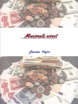 cover image of Maximale winst