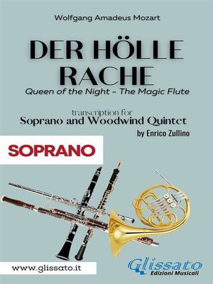 cover image of Der Holle Rache--Soprano and Woodwind Quintet (Soprano)