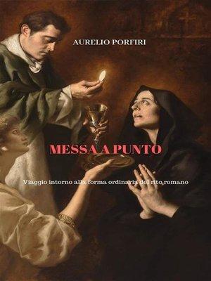 cover image of Messa a punto