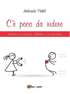 cover image of C'è poco da ridere