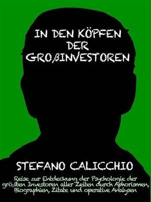 cover image of In den köpfen der großinvestoren