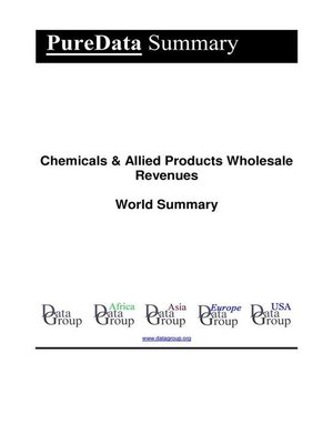 cover image of Chemicals & Allied Products Wholesale Revenues World Summary