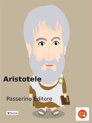 cover image of Aristotele