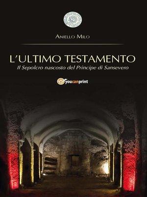 cover image of L'ultimo Testamento