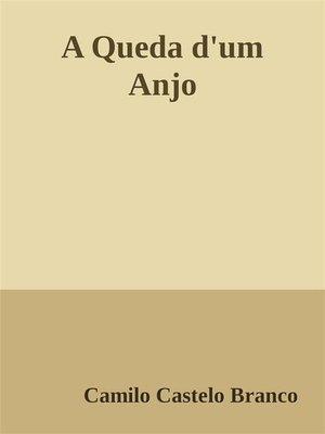 cover image of A Queda d'um Anjo