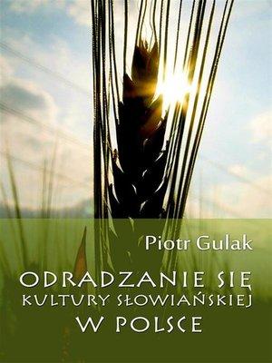 cover image of Odradzanie się kultury słowiańskiej w Polsce