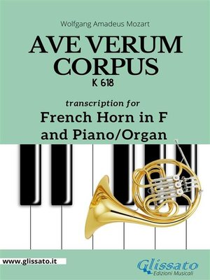 cover image of Ave Verum Corpus--French Horn in F and Piano/Organ