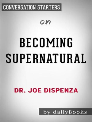 cover image of Becoming Supernatural--by Dr. Joe Dispenza