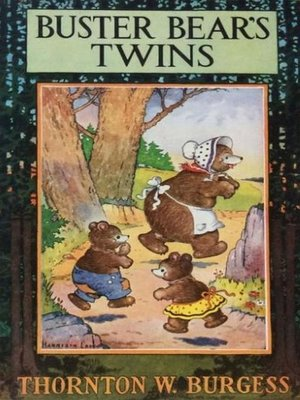 cover image of Buster Bear's Twins