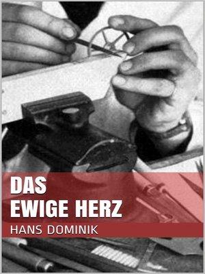 cover image of Das ewige Herz