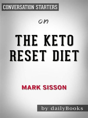 cover image of The Keto Reset Diet--by Mark Sisson​​​​​​​