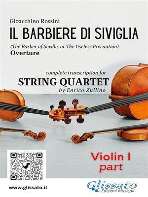 cover image of Il Barbiere di Siviglia (overture) String quartet set of Parts