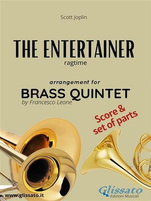 cover image of The Entertainer--Brass Quintet score & parts