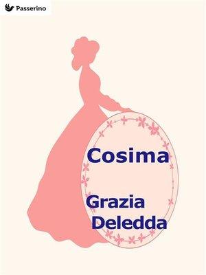 cover image of Cosima