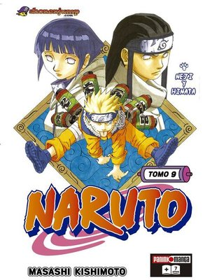 cover image of Naruto 9
