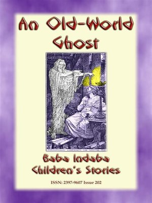cover image of AN OLD WORLD GHOST--A Children's Story from Ancient Greece
