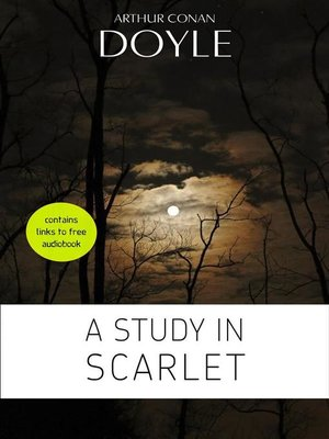 cover image of Arthur Conan Doyle--A Study in Scarlet